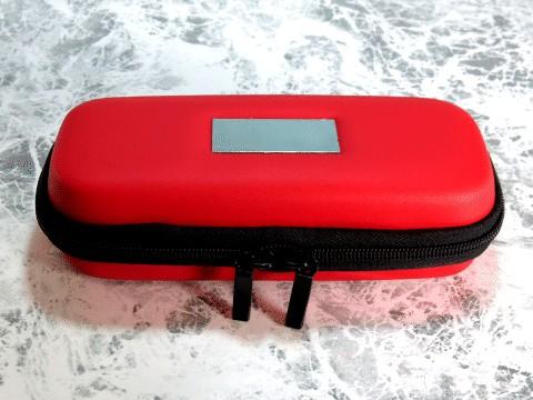 愛煙無煙家にて販売中の電子タバコthe eGoやBIANSI eGo-Tを入れる専用のケース(ブラック)、ロゴはなく表面のプレートは無地になります。電子タバコ国内最安値水準aienmuenka.com(愛煙無煙家)
