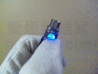 LED点灯 青